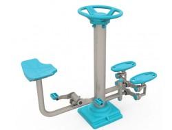 step ve bisiklet spor aleti
